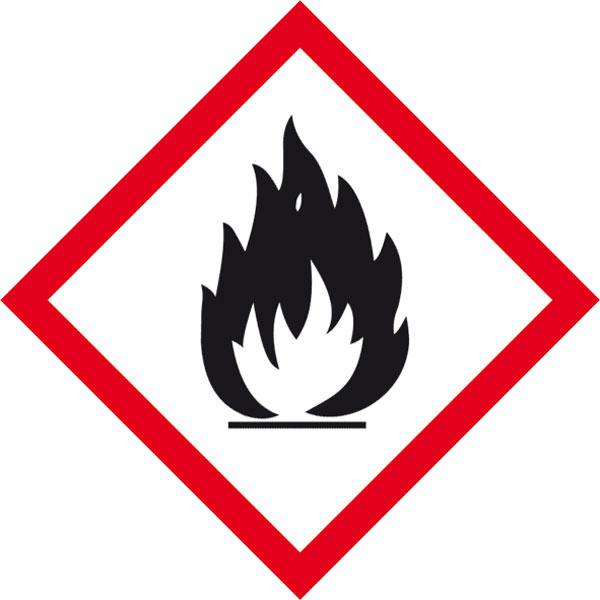 """Warnzeichen """"Warnung vor feuergefährlichen Stoffen"""""""